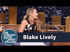 Blake Lively Calls Jimmy Fallon Her Dada (Download Youtube Videos Online) Tags: jimmy her dada blake fallon calls lively
