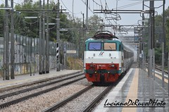 E444 053 Tartaruga (luciano.deruvo) Tags: e444053 tartaruga intercity fs ferroviedellostato rfi