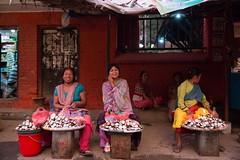Women (Crossing China) Tags: nepal kathmandu ktm travel travelphotographer portrait street streetphotography streetportrait himalayas mounteverest mountains mountain mountainflight shadow girl cute nepali nepalese sunset