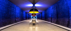 Welcome to the Machine (*Capture the Moment*) Tags: 2016 farbdominanz fischauge fisheye fotowalk lamp lampe minimalism minimalismus munich mnchen orange schrfentiefe sonya7ii station subway tiefenschrfe ubahn walimexpro westfriedhof yellow blau blue gelb