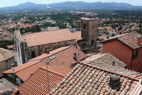 Palestrina (Praeneste) rooftops