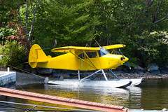 Private Piper PA-22-150 Tri-Pacer N2836P (jbp274) Tags: greenville greenvilleseaplaneflyin mooseheadlake 52b flyin seaplane floatplane airplanes lake water pa22 piper pacer tripacer