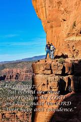 My son and I on Cathedral Rock, Sedona, AZ 2012 (TAC.Photography) Tags: redrock cathedralrock sedonaarizona sedona arizona rockledge bible biblescripture bibleverse scripture view valleyview mountainview rockclimbing