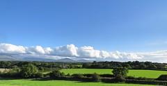 3867 Skyscape over Eryri - Snowdonia (Andy panomaniacanonymous) Tags: 20160902 bbb blue ccc clouds eee eryri fff fields hedges hhh landscape llanfairpg llanfairpwllgwyngyll llanfairpwllgwyngyllgogerychwyrndrobwllllantysiliogogogoch lll mmm mountains sky skyscape snowdonia sss