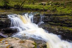 Afon Nedd Waterfall (--Kei--) Tags: nikon d810 nikkor wales cymru water waterfall waterfalls autumn afon afonnedd 50mm f12 50mmf12 ais