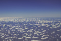 Where the skies are always blue (aerojad) Tags: vancouver2016 fromtheair inanairplane aerialphotography clouds landscape endless sky vacation travel wanderlust airtravel letsgosomewhere farm fields field