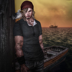 By the Sea (Cecilia Blachere) Tags: sharp hudson tee mesh fitmesh new 2016