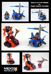Jonah's Nexo Micros (TFDesigns!) Tags: lego nexo knights mighty micro clay jestro