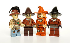 Scarecrow party (Vanjey_Lego) Tags: lego minifig minifigs minifigure minifigures scarecrow party dc dccomics dccomic supervilains