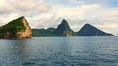 Pitons , Saint Lucia (Lonfunguy) Tags: saintlucia pitons unesco caribbean