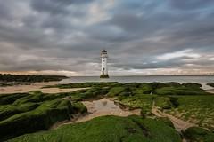 Perch Rock Lighthouse (Graham Peers) Tags: landscape seascape longexposure beach water rocks cloudscape nikon d600 lee filters big stopper 1116mm tokina