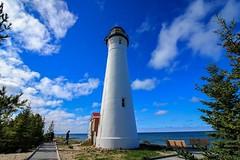 Crisp Point Lighthouse (meredithangyan) Tags: lakesuperior upmichigan yooper up puremichigan michigan newberrymichigan crisppointlighthouse lighthouse