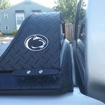 Penn State Logo on DiamondBack Low-Profile Cab Guard thumbnail