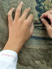 Cierre de rels (KRONOS Servicios de Restauracin) Tags: tapices museodeartesdecorativas restauracindetejidos kronos