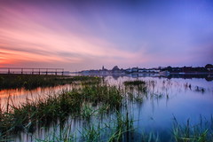 The Mist Of Time (jakeof) Tags: longexposure b sunset sea beach church water clouds reflections landscape boats sussex bosham westsussex jetty davidjacobs chichesterharbour waterreflections westsussexuk jakeof boshamsussexuk chichesterharboursussexuk boshamsussexengland