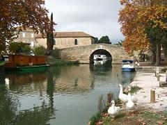 France - Le canal du Midi. (Gilles Daligand) Tags: bridge france canal pont midi