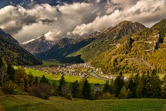 Föhnsturm über Pfunds (Ernst_P.) Tags: autumn cloud storm clouds landscape austria tirol österreich herbst himmel wolke wolken paisaje nubes otoño landschaft hdr aut sturm föhn pfunds