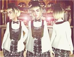 i'm not the maid, i'm the  BarLady (- K StyLeZ -) Tags: life marina blog avatar blogger sl coco gato secondlife blogging second birdy 2ndlife beusy gatoshop