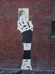 s701a... (colourourcity) Tags: art graffiti wheatpaste paste melbou
