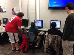 """2014 Hour of Code • <a style=""""font-size:0.8em;"""" href=""""http://www.flickr.com/photos/109120354@N07/15472577204/"""" target=""""_blank"""">View on Flickr</a>"""