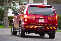 OHFD C2 Rear (ironmike9) Tags: chevrolet fire emergency suv firefighter firedepartment fd onondagahillny ohfd onondagany onondagahillfiredepartment