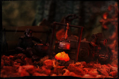 The Final Embers of Humanity (Ed Speir IV) Tags: world camping fiction camp trooper scale rain infantry last toy soldier toys actionfigure fire marine war alone military acid wwiii wwii under science line fantasy raptor pollution figure dio scifi lone vehicle lonely sciencefiction kit division import defense pilot worldwar diorama speeder apocalyptic lau 118 303 acidrain marki 334 mk1 skronex kitlau oritoy warunderpollution lastlinedefense