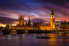 London (jpmiss) Tags: uk longexposure greatbritain sunset england london westminster canon 50mm unitedkingdom parliament bigben londres angleterre iconic thamesriver icone coucherdesoleil 6d royaumeuni tamise poselongue elizabethtower jpmiss