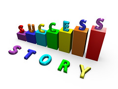 Success Story (Shahid Abdullah) Tags: green silver word idea keyboard key message metallic background text letters rich nobody business story abc glowing positive concept success isolated finance successful