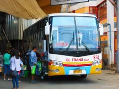 GL Trans Corp. 874 (JanStudio12) Tags: bus buses trans gregory corp pinoy cordillera fanatic gl pbf janjan 874 lizardo partex paganao janstudio12 baguiotabuk