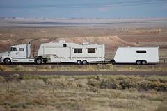 Volvo RV Puller (ashman AZ) Tags: arizona truck volvo transport rv interstate40 volvotruck
