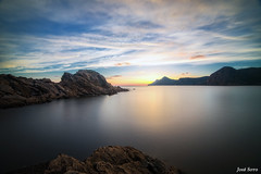 Playa del Lastre (Portman) (Legi.) Tags: longexposure sunset seascape landscape atardecer nikon playa tokina cartagena 116 largaexposicin d600 lastre portmn