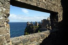 Dunluce Castle (pandt) Tags: dunluce portrush nothern ireland castle ocean landscape outdoor rock irish ruins sea water