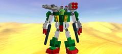 Heavy Arms (Riddik) Tags: lego space suit custom gundam mecha exo chima