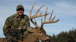 Kansas Trophy Whitetail Bow Hunt 48