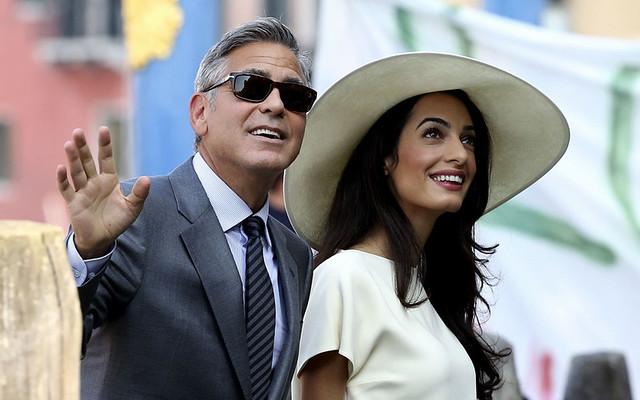 Amal Clooney pregnant