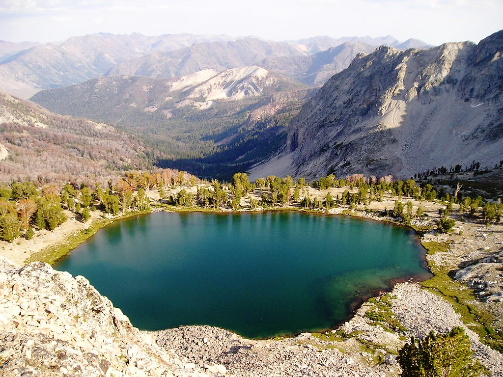 The world 39 s best photos of alpinelake and fishing flickr for Best fishing in idaho