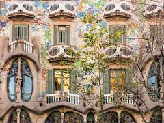 Barcelona 347 (Sebas Adrover) Tags: barcelona city espaa window architecture facade canon ventana casa spain arquitectura balcony ciudad catalonia powershot gaud catalunya fachada balcn catalua casabatll espanya g15