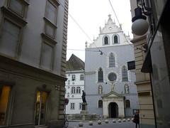 P1010101 (ferenc.puskas81) Tags: vienna wien november church austria österreich europa europe novembre chiesa 2009 franziskanerkirche