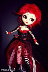 Joy : Pullip kirsch FC (Meludoll) Tags: make up by la outfit des full pullip fe custo kirsch lanternes trisquette