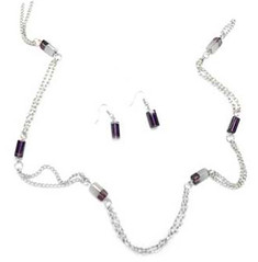 Glimpse of Malibu Purple Necklace K3 P2430A-5