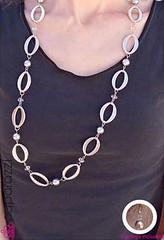 5th Avenue Silver Necklace K2 P2220-3