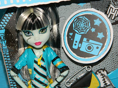 Monster High -Frankie Stein - Picture Day (2012) - close up (Nexira) Tags: monster high day picture frankie stein