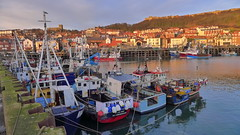 Scarborough Harbour (Macca6691) Tags: castle harbour scarborough fishingboats southbay oldtown northyorkshire quayside scarboroughcastle inshorefishing scarborougholdtown