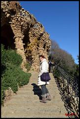 Barcellona - Parco Guell 03 (BeSigma) Tags: travel parco nikon gaudi guell viaggio vacanza barcellona spagna d600 24120