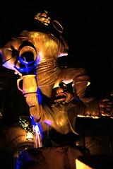 DSC07658-E (washuugenius) Tags: fountain night photo florida disney disneyworld amusementpark magickingdom gaston beautyandthebeast