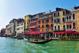 Sunny, colorful Venice