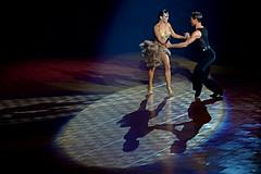 Latin dance  (Mel@photo break) Tags: light shadow people motion sport denmark dance samba dancer spot mel shade latin spinning melinda macau  latindance  umbertogaudino chanmelmel melindachan louiseheisejorgensen theartofrhythm