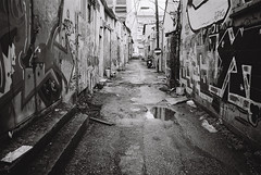 The Unseen Parts of The City Part I (Ronen Chernyak) Tags: street bw film analog israel blackwhite telaviv alley nikon fuji negative 35mmfilm fujifilm filmcamera nikonf3hp tlv acros asa100 florentin acros100 filmphotography 2015 negativefilm fujiacros100 southtelaviv 35mmnegative 35mmcamera filmnegative acrosneopan100 bwnegative nikon28mmf35ai