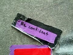beconfident camerasamsunggalaxynexus climbingwall google googleplex message rockclimbing sticker tag tape year2012 2012