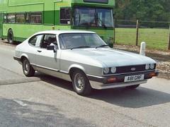 494 Ford Capri 1.6LS Mk.III (1983) (robertknight16) Tags: ford capri british pops 1980s wedgewood barlaston a81grf